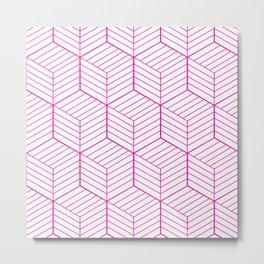 ZADA ((hot pink)) Metal Print