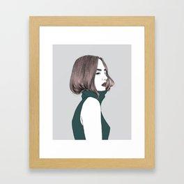 Basic instinct Framed Art Print