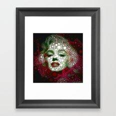 Marilin circles Framed Art Print