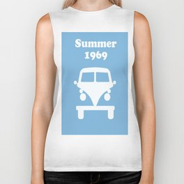 Summer 1969 -  lt. blue Biker Tank