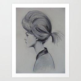 Gretta The Great Art Print