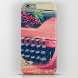December moments iPhone Case