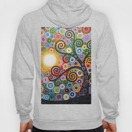 Abstract Art Landscape Original Painting ... Memory of Magic Hoody