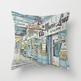 Newtown Vibe Throw Pillow