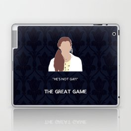 The Great Game - Molly Hooper Laptop & iPad Skin