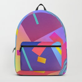 80's inspired art Backpack