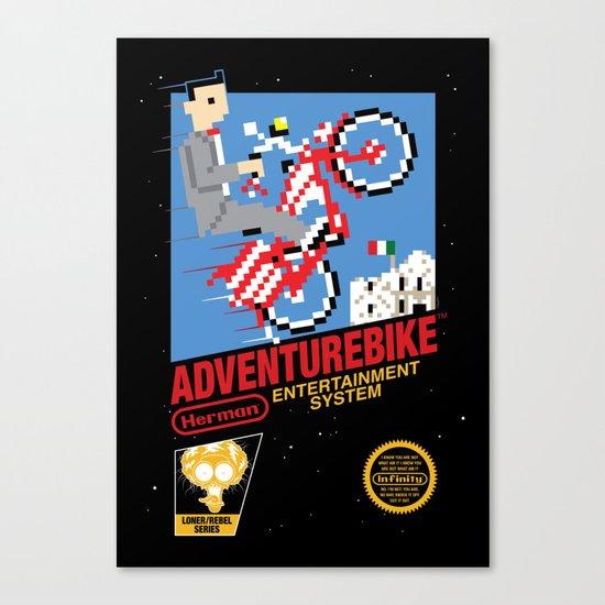 Adventurebike Canvas Print