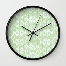 Harlequin Marble Mix Greenery Wall Clock