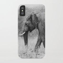 Elephant Tracks iPhone Case