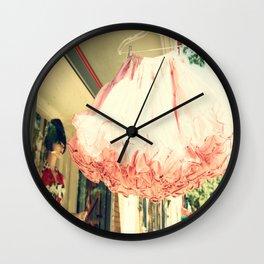 Crinoline Skirt  Wall Clock