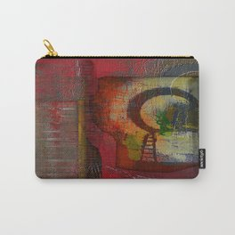 Oriental Projecting  Carry-All Pouch