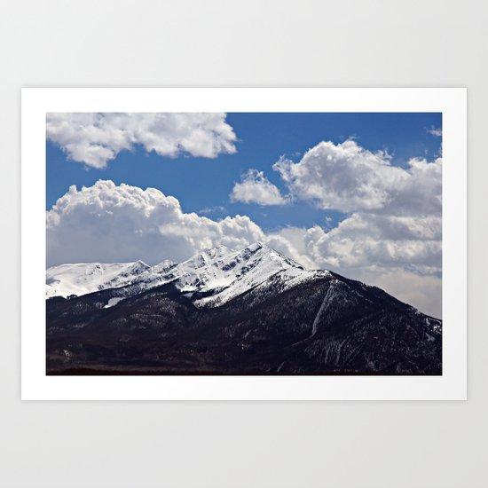 Tenmile Range From Lake Dillon Art Print
