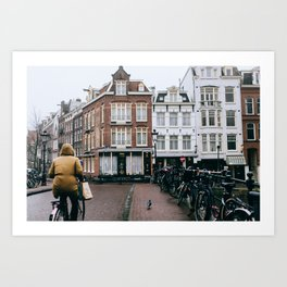 Centrum - Amsterdam, The Netherlands - #5 Art Print