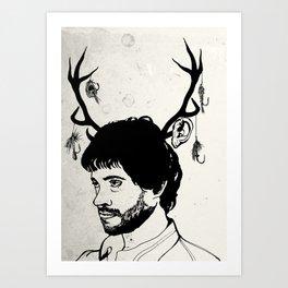 'This is my design' Art Print