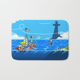 The Legend of Zelda: Wind Waker Advance Bath Mat