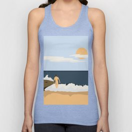 Private Beach 2 Unisex Tank Top