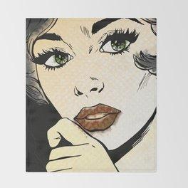 Pop Art Throw Blanket