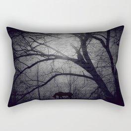 Where do unicorns go? Rectangular Pillow