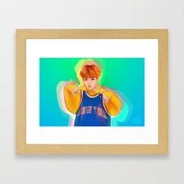 J-Hope Framed Art Print
