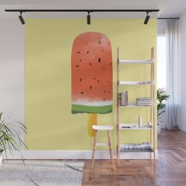 Watermelon Popsicle #society6 #decor #buyart Wall Mural