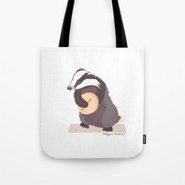 Bodhrán Badger Tote Bag