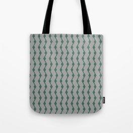 Teal lines Tote Bag