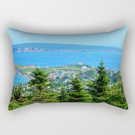 Bonaventure Island panoramic Rectangular Pillow