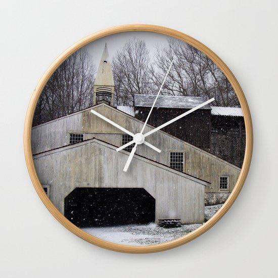 Hopewell Furnace Wall Clock