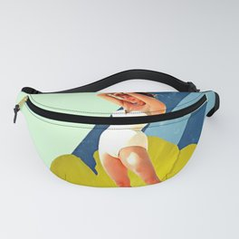 Summer Blossom Collage Fanny Pack