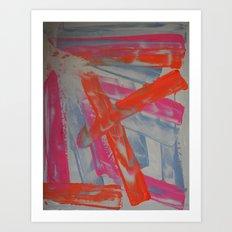 Neon Sherbert Art Print