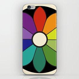 James Ward's Chromatic Circle (interpretation) iPhone Skin