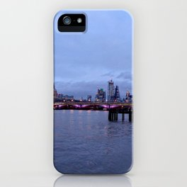 Thames View near OXO Tower iPhone Case