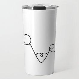 Woman & LoveMe Travel Mug