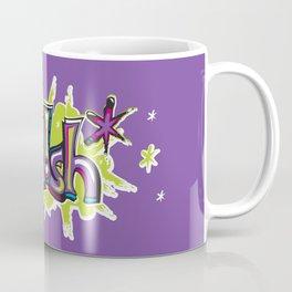 FN Foolish Graffiti Art purple Coffee Mug