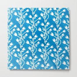 Folkart Floral - Kurbits - Pattern Metal Print