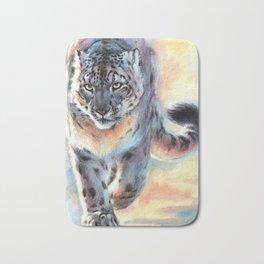 Snow Leopard - Out of Nowhere Bath Mat