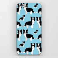 border collie iPhone & iPod Skins featuring Border Collie  by Heroinax