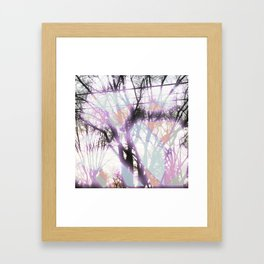 Glowing Memories Framed Art Print