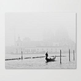 White Venice Canvas Print