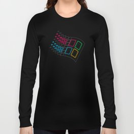 Windows '86 Long Sleeve T-shirt