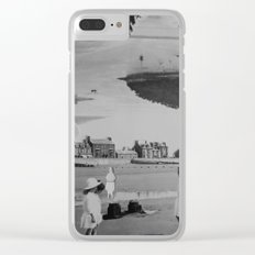 Girls of Summers Past Clear iPhone Case