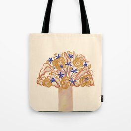 Umbrella Vase Tote Bag