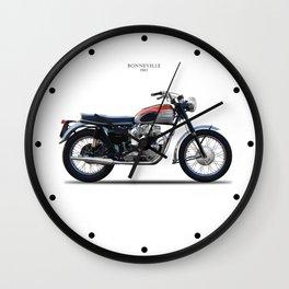 Bonneville T120 1962 Wall Clock