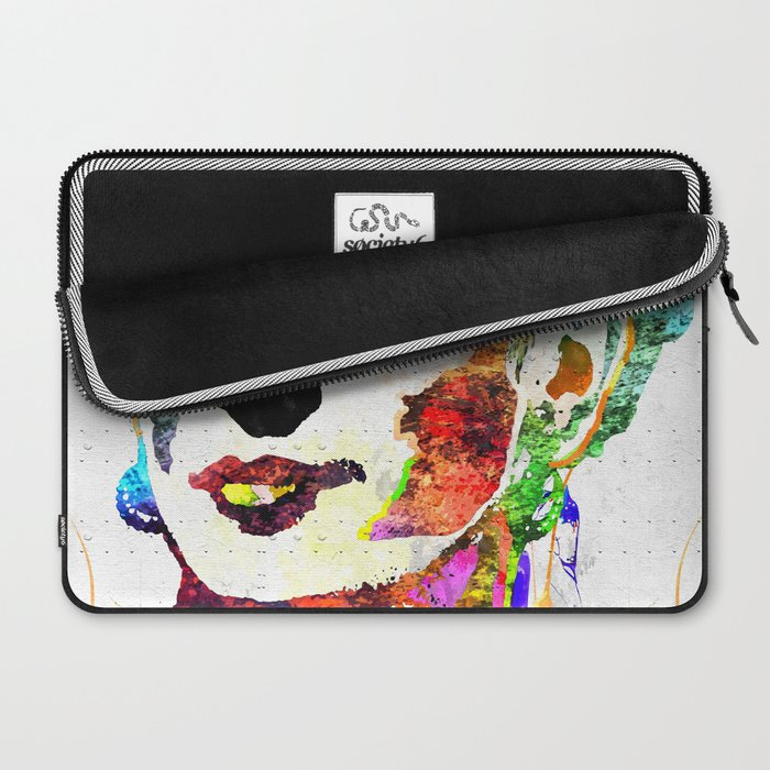 Frida Kahlo Grunge Laptop Sleeve
