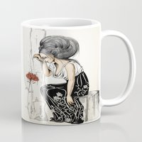 romantic Mugs featuring Romantic by ValD