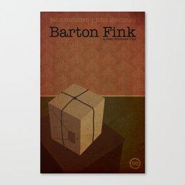 Film Friday No. 4, Barton Fink Canvas Print