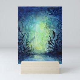 Ethereal Underwater Ocean Life Mini Art Print