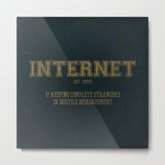 Internet est. 1990's Metal Print