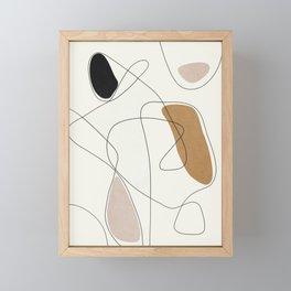 Thin Flow II Framed Mini Art Print