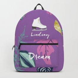 ice skating backpack lindsay Backpack